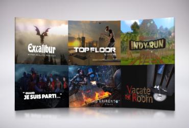 Plus de 60 jeux de VR