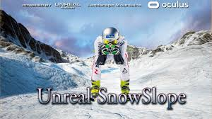 UNREAL SNOW SLOPE